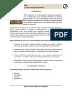 Sintesis del Plan De Trabajo 2010-2014