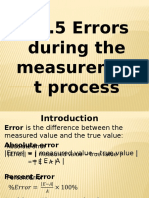 5 Errors S16