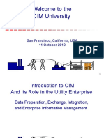 01 Introduction to CIM October 2010