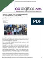 16-02-16 Encabeza Claudia Pavlovich conmemoración del Día Internacional del Cáncer Infantil - Peñasco Digital