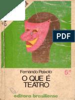 Fernando Peixoto - O Que é Teatro