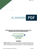 estudio magnesio