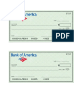Cheque model