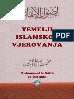 TEMELJI ISLAMSKOG VJEROVANJA   -   šejh Muhammed b. Salih el-'Usejmin