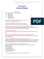 Chapter 2_Network Models_Exercise Question With Solution