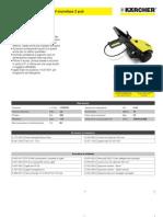 Idropulitrice a freddo Karcher HD 605