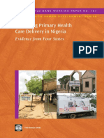 Improving Primary Health Care Delivery in Nigeria