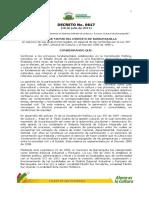 Decreto 0817 de 2011