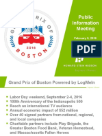 Grand Prix of Boston Presentation 2/18/16