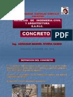 3º Clase Concreto--unheval