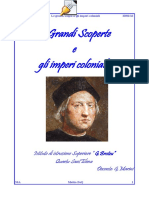 Le Grandi Scoperte e Gli Imperi Coloniali