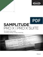 Samplitude Pro X Pro X Suite All Eng