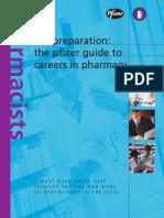 Pfizer Preparation in Pharmacy Career