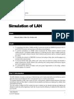 Lab2 Simulation of LAN Fall 91