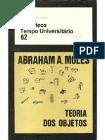 Moles Abraham Teoria Dos Objetos