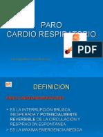 Paro Cardioresp. Dr. Hansel