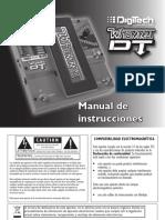 Wha asd asd asd asd asddd qw 1qe12 mmy DT Manual-Spanish Original