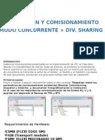 INSTALACION MODO CONCURRENTE+DIV_SHARING