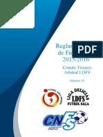 Reglas de Juego LDFS 2015-2016