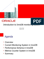 Introduction to InnoDB monitoring System