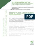 CP AFrican Fertilizer Complex VF
