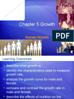 Chapter 5 Human Growth