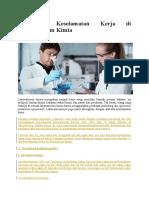 15 Alat Keselamatan Kerja Di Laboratorium Kimia