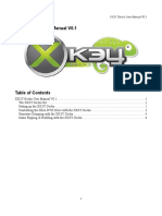 Xk3y Gecko User Manual v0.1