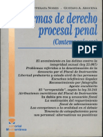 Cafferata Nores-Arocena Gustavo -Temas Derecho-Procesal Penal