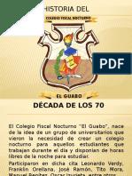 Historia Del Colegio El Guabo