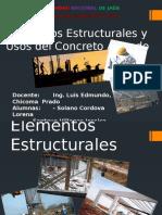 Estructuracion y cargas
