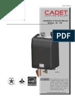 Cadet Boiler Installation Manual