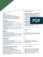 rivera megan resume