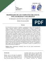 Informe #1 de Inflamabilidad y Solubilidad