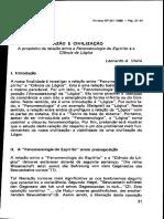 Leonardo Vieira - Fenomenologia do espírito e a Ciencia da Lógica.PDF