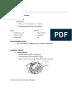 Job Sheet - Sistem Kopling