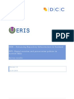 ERIS-WP2 Survey Final Report 220310
