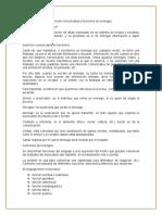 Intencion Comunicativa y Funciones de La Lengua