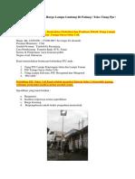 Harga Pju Solar Cell | Harga Lampu Gantung Di Padang | Toko Tiang Pju | 0822 4558 2777