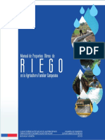 Manual Pequenas Obras de Riego