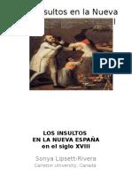 Los Insultos en La Nueva España