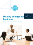 Making Change Your Business - Whitepaper (April 2009)