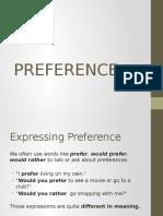 Preference Ppt