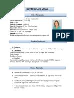 Curriculum Marian Gonzalez