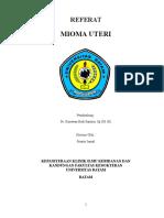 Referat Mioma Uteri