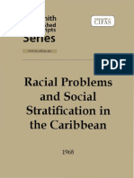 Racial Problems and Social Stratification in the Caribbeam