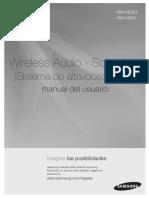 Wireless Audio - Soundbar  (Sistema de altavoces activo)