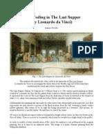 Color Coding in the Last Supper (by Leonardo Da Vinci)