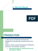 The World Bank - An Overview[1]