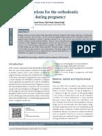 Pertimbangan Untuk Perawatan Ortodontik Selama Kehamilan